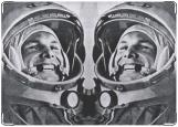 Обложка на паспорт с уголками, Гагарин