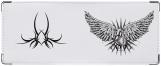 Обложка на студенческий, Сердце с крыльями