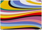 Обложка на права, Цветные волны