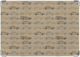 Обложка на автодокументы с уголками, Крафт-машинки