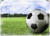 Обложка на автодокументы с уголками, Футбол