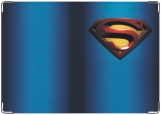 Обложка на паспорт с уголками, Супермэн