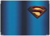 Обложка на автодокументы с уголками, Супермэн