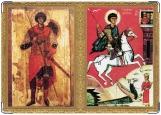 Обложка на паспорт с уголками, Святой Георгий