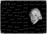 Обложка на автодокументы с уголками, Эйнштейн