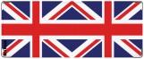 Обложка на студенческий, британский флаг