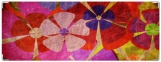 Обложка на зачетную книжку, Винтажные цветы