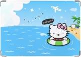 Обложка на паспорт с уголками, Hello kitty