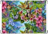 Обложка на паспорт, Бабочки на лугу.