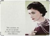 Обложка на паспорт с уголками, Chanel