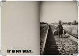 Обложка на паспорт с уголками, My way
