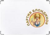 Обложка на паспорт с уголками, Партия блондинок