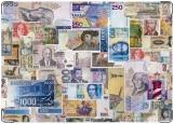 Обложка на паспорт с уголками, деньги