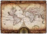 Обложка на паспорт, карта