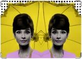 Обложка на паспорт с уголками, Одри