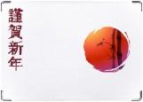 Обложка на паспорт с уголками, япония