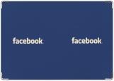 Обложка на паспорт с уголками, FaceBook