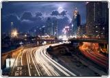 Обложка на автодокументы с уголками, Big city
