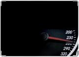 Обложка на автодокументы с уголками, спидометр