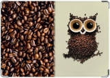 Обложка на паспорт с уголками, Кофейная Сова