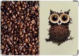 Обложка на автодокументы с уголками, Кофейная Сова