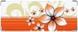 Обложка на студенческий, цветы