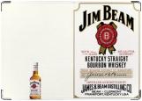 Обложка на автодокументы с уголками, Jim Beam
