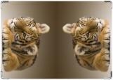 Обложка на автодокументы с уголками, Тигрёнок