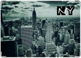 Обложка на автодокументы с уголками, NY