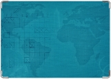 Обложка на паспорт с уголками, Морской бой
