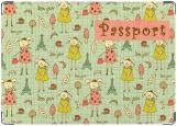 Обложка на паспорт, Бонжур