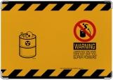 Обложка на паспорт с уголками, Предупреждение