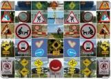 Обложка на автодокументы с уголками, Знаки :)