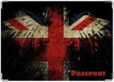 Обложка на паспорт с уголками, Орел