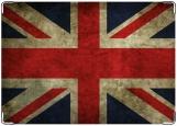 Обложка на паспорт с уголками, Британский флаг