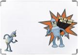 Обложка на паспорт с уголками, Bender