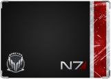 Обложка на паспорт с уголками, Mass Effect