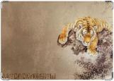 Обложка на автодокументы с уголками, Tiger