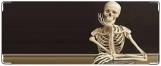 Обложка на студенческий, скелет
