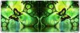 Обложка на студенческий, Зелёные бабочки