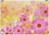 Обложка на автодокументы с уголками, Цветы-2