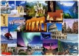 Обложка на паспорт с уголками, Весь Мир 2