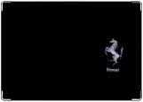 Обложка на автодокументы с уголками, Ферарри