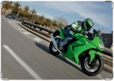 Обложка на автодокументы с уголками, Мотоцикл