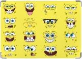 Обложка на паспорт с уголками, sponge Bob