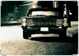 Обложка на автодокументы с уголками, В ночи