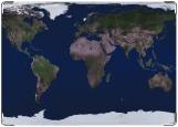 Обложка на паспорт с уголками, Земля днем