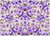 Обложка на паспорт, Сиреневые цветы (акварель)