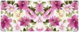 Обложка на студенческий, Акварель. Розовые цветы