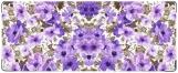 Обложка на студенческий, Акварель. Сиреневые цветы